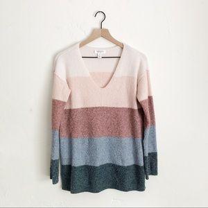 Motherhood Maternity Striped Sweater Size Medium